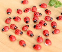 accessories for beetles - Wooden craft beetle handmade Furnishing articles sets Lady beetle doll decoration DIY accessories Decoration for beetles