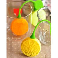 enamel teapot - Drinker Teapot Teacup Herb Tea Strainer Filter Infuser Bag Lemon Silicone E00048 SMA