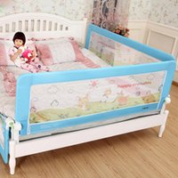 baby playpen gate - DHL m Foldable Baby Gate Bed Rail Fence Playpen Guardrail Baby Crib Guardrail Fencing For Children Bed Buffer Type m