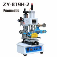 auto industrial machine - ZY H Auto Industrial Hot foil Stamping Machine leather LOGO wood marks name card Branding machine leather embossor V