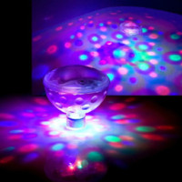 Wholesale 2015 New RGB LED Underwater Light Show LED Disco Ball for Swimming Pool Pond Light for Pond Pool Spa Hot Tub Disco