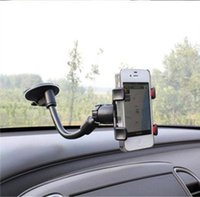 Wholesale Phone Stand Car Universal For GPS Mobile Phone Car Windscreen Suction Mount Holder Cradle Stand