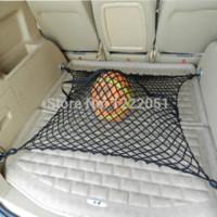 audi mesh - Auto Trunk Storage Net Universal Elastic Nylon Car Trunk Storage Mesh For Audi For Bentley For BMW