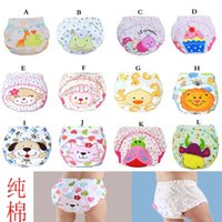 baby shorts washable - Cotton baby washable cloth diaper reusable nappies LABS training pants briefs infant boy girl underwear