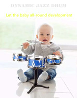 Wholesale Children s musical instrument small drum drum kit hammer percussion toys for children years old to years old
