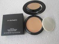 Wholesale NW25 good quality makeup new studio fix powder plus make up face foundation g face powder concealer with sponge makeup