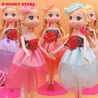 Wholesale New cm Ddung Doll Kawaii Confused Reborn Doll Keychain Phone Pendant Dolls for Girls Birthday Gift bjd Doll barbies dolls