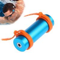 armband radio - Swimming Diving Waterproof MP3 Player FM Raido Waterproof Level IPX8 Underwater Sports MP3 Earphone Armband