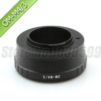 Wholesale OM Lens to Micro M43 Mount Adapter for EPL3 EP2 EP3 GF1 GH1 G3 G2 G1