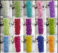 arch photography - Hydrangea row arches road lead upscale wedding photography floral arrangements Huaqiang Road flower Artificial flower row