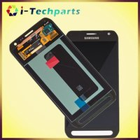 active digitizer - New Original Free DHL For Samsung Galaxy S6 Active LCD Display and Digitizer Touch Screen Panels with Logo Black and White