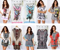 bell linen - 2016 Summer and autumn the new Europe and the United States women s ice silk printed t shirts female hot style