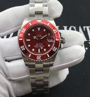 Wholesale 2016 brandswatch9u suggest red dial ceramic bezel woman A2813 MOVEMENT automatic Watch