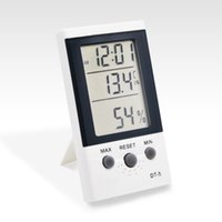 Wholesale Ringder indoor and outdoor dual temperatures digital thermometer room thermometer DT