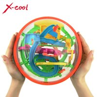 Wholesale XC925A New Big Magic Puzzle Ball Educational Magic Intellect Puzzle Game Magnetic Balls for Kids Steps