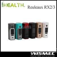 Wholesale Wismec Reuleaux RX2 Mod Upgradeable Firmware Fit cells with RX23 Back Cover Original RX2 RX2 Mod
