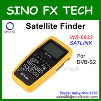 Wholesale Original Satlink WS cheapest DVB S2 HD satellite finder satlink finder satellite signal finder meter