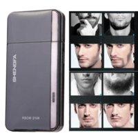 Wholesale V RSCW Electric Reciprocating type Shaver Shaving Beard Black Promotion F OS Cheap beard shaver