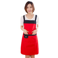 Wholesale Fashion Lady Women Simple and Elegant Aprons Catering Kitchen Apron Aprons Spot