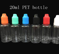 best plastic bottles - Best price Needle Droppe bottle PET ml plastic Empty E Liquid Oil Bottle with Childproof Cap Plastic Packaging