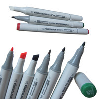 Wholesale color finecolour sketch twin marker set half cheaper Copic Ciao junior art marker to learn drawing good student art gift