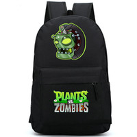bag zombies - Plants vs zombies backpack Girl boy school bag Game boss daypack Special schoolbag Outdoor rucksack Sport day pack