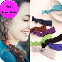american girl pony tail - 2016 New Colors Elastic Headbands for women and Girls DIY Hair Accessory Satin Stretchy Hairbands Headwear