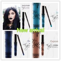 Wholesale 15 colors NEW Latest KYLIE JENNER LIP KIT Kylie Lip Velvetine Liquid Matte Lipstick in Red Velvet Makeup Lip Gloss Make Up