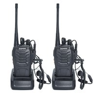 Wholesale 2 Baofeng BF S Walkie Talkie W Handheld Pofung bf s UHF MHz CH Two way Portable CB Radio