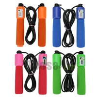 skipping rope with counter - new Children outdoor toys m Handle Skipping Jump Rope with Counter Number for Exercise Workout
