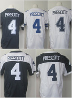footballs - 4 Dak Prescott Blue White Thanksgiving Throwback Football Jerseys Home Away Elite Men Women Youth Kids Stitched Free Drop Shipping