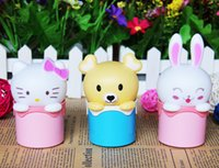 bear hello - 2016 hot MOQ brand new cute led night light lamps minions hello kitty bear rabbit V V children toys light feeling kids christmas