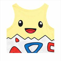 Wholesale Cute Women Camisoles and Tanks with Cartoon Pattern Fashion Ladies Tanks with Cotton Material Hot Sale