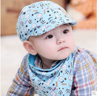 Unisex baby cricket - 3 Months Baby Girls Fashion Beret Hats Child Baseball Caps Kid Peaked Hats Infant lovely Cricket Cap a217