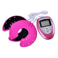 Wholesale New Arrival High Quality New Breast Enhancer Electrical Pulse Digital Enhancing Massage Breast Growth