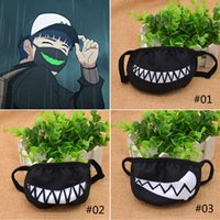 Wholesale Cute Funny Anime Zombie Brother Cartoon Teeth Slobber Face Mouth Masks