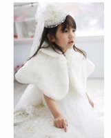 baby outerwear cape - 2016 Autumn Winter Baby Girl Cloak Coats Fashion Cute Bow Kids Shawl Girls Baby Cloak Cape y kids outerwear
