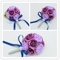 best wedding lists - 2015 New Listing Wedding Flowers Groom Boutonniere Best Man Wrist Corsages for Party Flowers Decoration for wedding