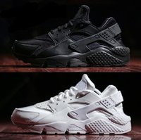 Wholesale 2016 Air Running Shoes Huaraches For Men Women Sneakers Zapatillas Deportivas roshe run Womens Mens Sport Shoes Glod Black Huarache