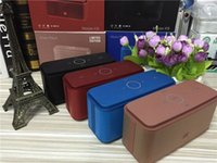 bass horn speaker - Limited edtion music player K8 Bluetooth Speaker Heavy Bass Double Horn Subwoofer Touch Sensitive Bluetooth Speaker NFC Card with seal box