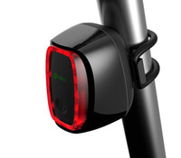 Wholesale Smart Bicycle rear back led Light rechargeable Wireless control Waterproof design bike lights