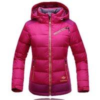 Wholesale Waterproof Windproof Ski Jacket For Women Winter Skiing Snowboard Suit Mountain Hiking Women Down Coat Winter Suit