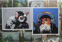 Wholesale Hand Painted Customized Oil Painting for Soulemane Gbane