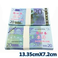 Wholesale 100PCS EUROS BANKNOTES Bank Staff Training Collect Learning Banknotes Arts Gifts Home Arts Crafts