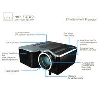 Wholesale Hot Selling Unic UC28 Terkecil LCD Projector Mini Saku Dengan HDMI Kartu tf Usb CVBS Dipimpin Projector