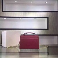 advanced cell phones - 5 colors fashion brand designer shoulder bag with box for women advanced leather