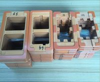 bakelite phones - 100PCS Bakelite Mould LCD Outer Glass Mould Holder For Refurbishing Moulds Mobile phone Tablet Model Mold Molds