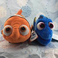 big fish videos - 2016 EMS Original Finding Nemo plush toys cm Nemo and Dory Fish Stuffed Soft Plush Toy for Birthday gift