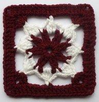 afghan crochet pattern - Crochet pattern Floral afghan Mats Pads Hook flower hand made Crochet Doilies cup mat Square Doily mixed style cheap