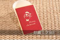 Cheap 3D greeting card FLORASTUDIO vintage green box Blessing Postcards Gift  Christmas Card Greeting Card  Birthday card